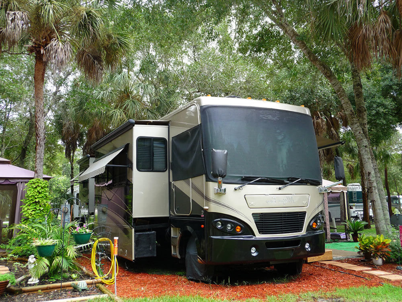 the resort bay bayou rv resort is the best rv park florida around