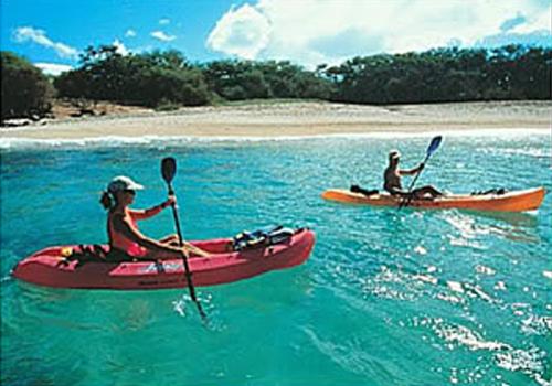 athletics include kayaking