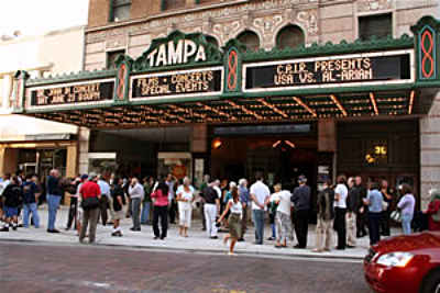 tampa theatre is a beautiful venue