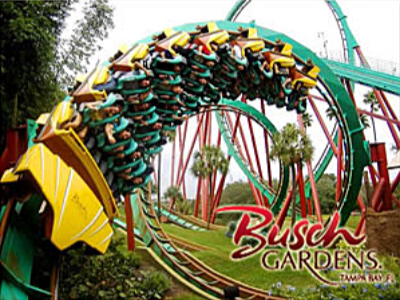 busch garden theme parks close by